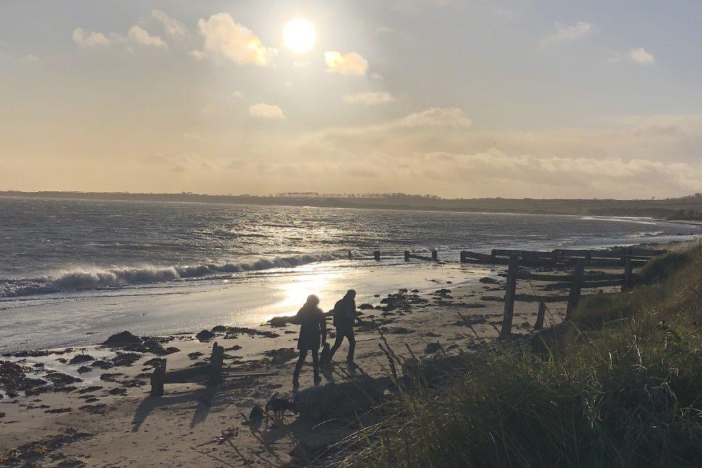 Alnmouth Winter Beach