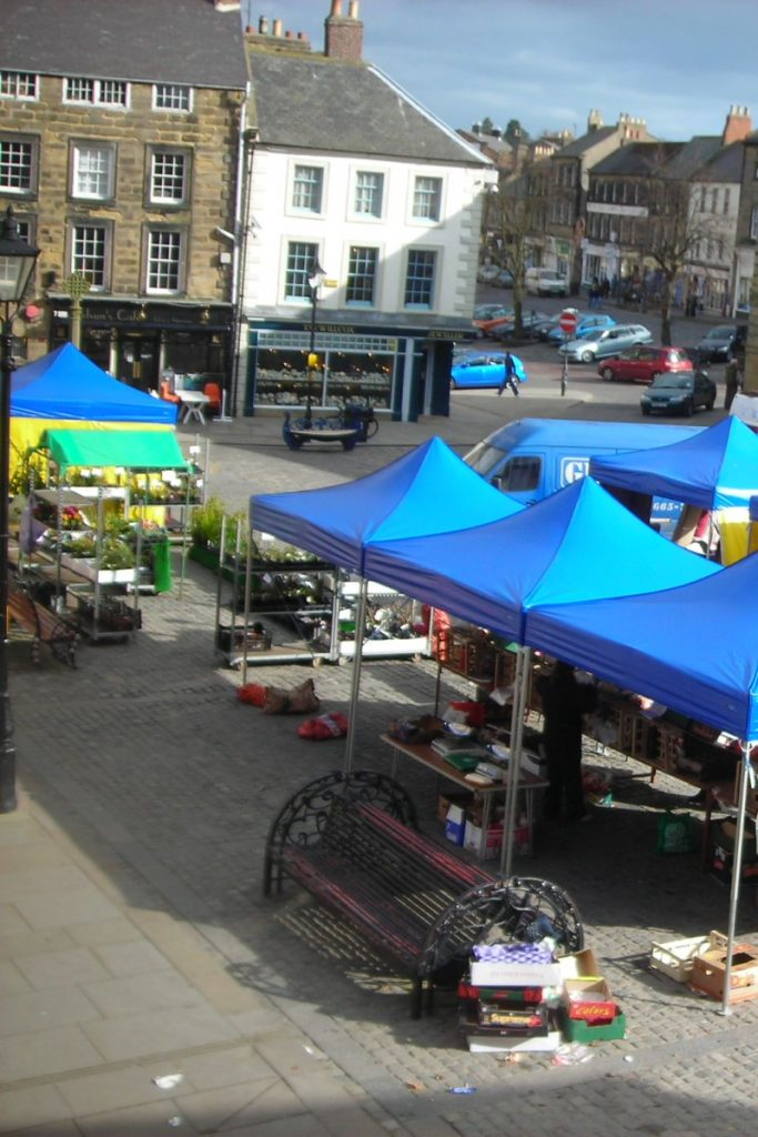 Things to do in Alnwick - Market Square