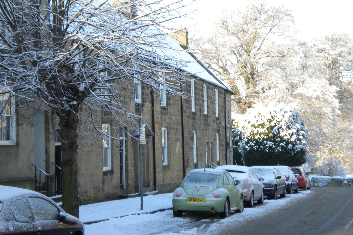 Snow at Baileygate House