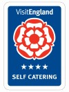 4 star accredited by Visit England